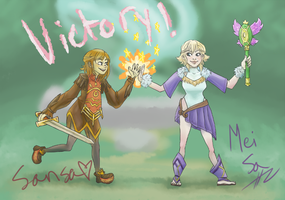 Victory! by Laleira-Granite