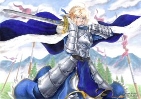 Artoria Pendragon - King of Knights by Abbadon82