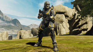 Rachel's (somewhat) Halo 5 armor by Turbofurby