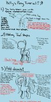 Mare Pony Drawing Tutorial (MLP Format) by kkp101