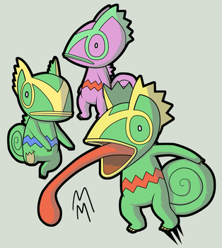 5 - Kecleon by dashal