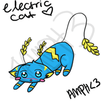 Electric Cat by knd2345