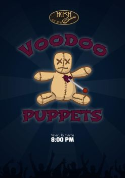 Rock Band Poster (Voodoo Puppets) by florinangh