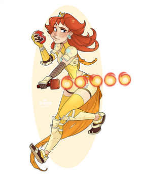 Warrior Daisy by Skirtzzz