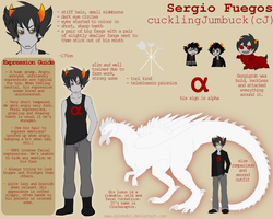 Sheet: Sergio Fuegos by Zelendur