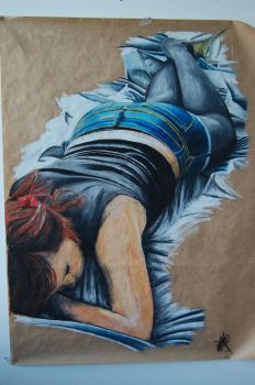 PF - Tamsin Oil Pastel by This-is-side-one