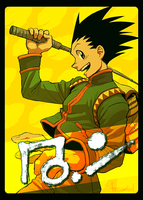 Gon Freecss by FerioWind