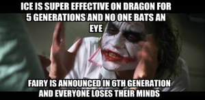 Joker Reaction to Whiners of Fairy Type by newsuperdannyzx