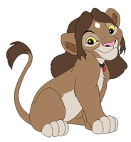 Samantha style of The Lion King base by CottonCatTailToony