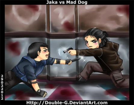 Com The Raid Jaka Vs Mad Dog by Shirei-Shou