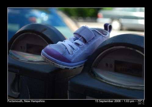 Tiny Shoe by PhotographyByIsh