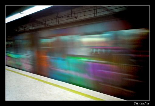 Colors in the underground by frescendine