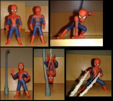Spiderman en plastilina 2013 by fsalkatras
