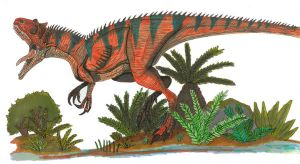 Allosaurus by Hellraptor by All-Crazy-Reptiles