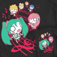 Tuneful Saunter - We Love Fine Hatsune Miku shirt by GoshaDole