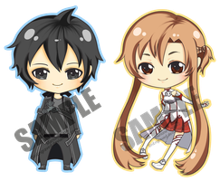 Samples: SAO Chibis by SinEngraved