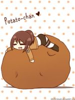 Sasha x Potato-chan by KotoriAsobi