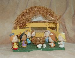 Nativity Set for sale by noe6