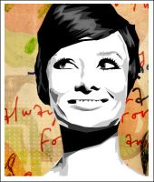 audrey hepburn by smileo