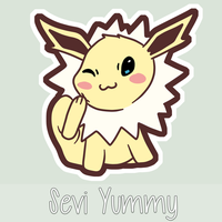 Chibi Jolteon by SeviYummy