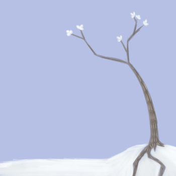 Snow Tree by ArtandCookies