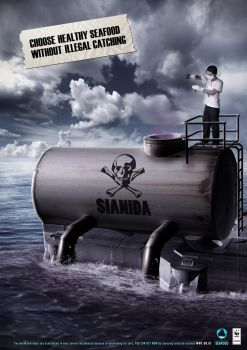sianida - sustainable seafood by MAGOTZCORE