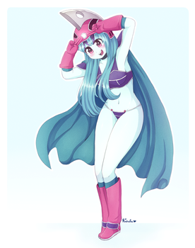 ~Sonata in Kid Chichi's Outfit~ (COMMISSION) by Riouku