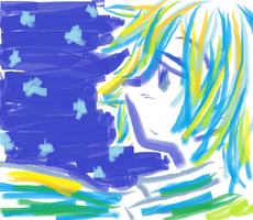 KAITO in MS Paint by KikuP