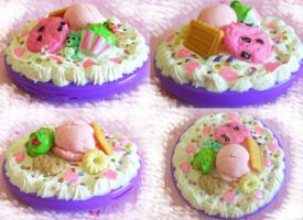 Nyummy Desserts Compact Mirror by ImperfectKawaii
