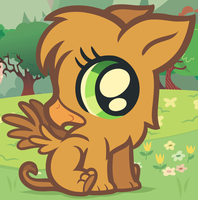 Baby Griffon Vector by Dragoart