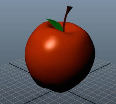 3D Apple by candychua