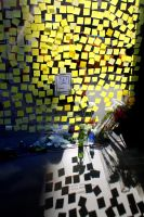 Post-it Note Memorial by WillTraven