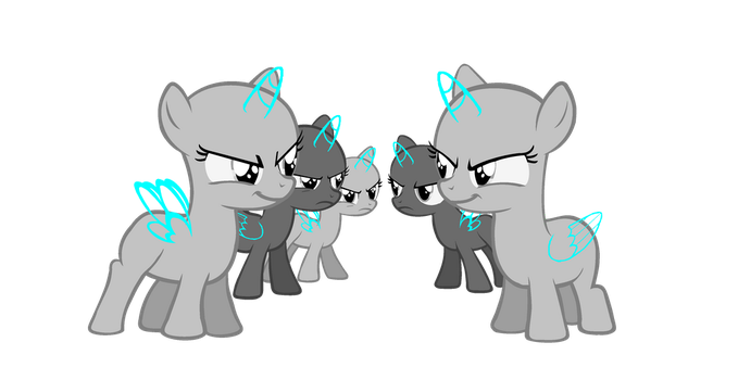 MLP Base - Face Off by Butterfly-Bases