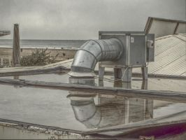 HDR - Airco on the Beach by MaxArceus