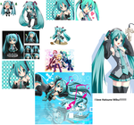 Miku Collage by animecrazy444