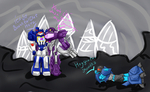 Just you me... and Dreadwing! by MaAwezoom