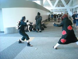 Sasori vs. Kankuro-Otakon 09 by cloudsofsand