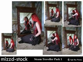 Steam Traveller Pack 1 by mizzd-stock