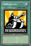 Newgrounds yugioh card by mariic1