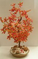 Beads tree by AnnFrost-stock