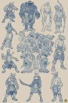 RAMAYANA : Characters Designs by BongzBerry