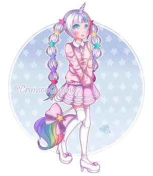 [PRIZE] Pinku by CrimsonQueen97