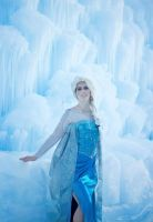 Elsa Frozen Ice by Silver-Fyre