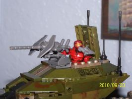 UNSC Scorpion Prototype 10 by coonk9