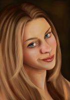 Portrait Practice by Morgalahan
