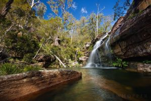 Corindi Falls, NSW by DrewHopper