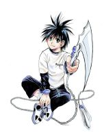 Flame of recca - koganei by pheonixefreet