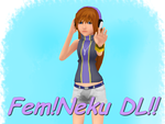 :DL: Female Neku by TemmieVega1999