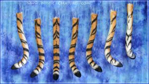 Siberian - The tiger part of a gryphon tail. HD by Mystic-Creatures