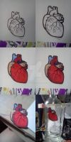 Heart Stickers Tutorial by HorizontalProjection